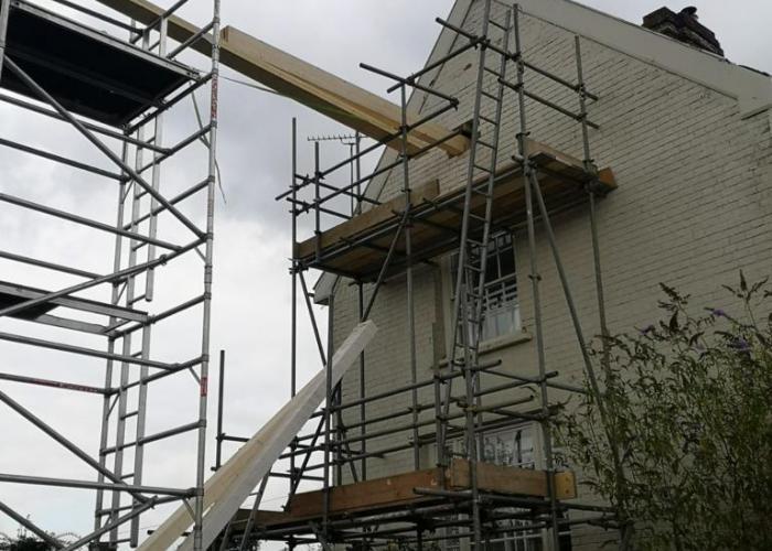 Loft Conversion, Layham (exterior)