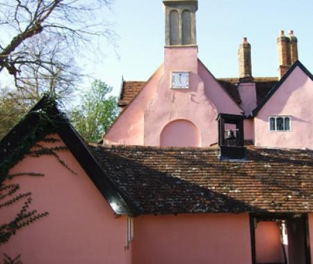 Clare Priory  - exterior complete